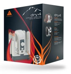 Schuhtrockner Dry4 von Alpenheat - flüsterleise & schonend