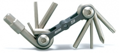 Topeak Mini 9 Fahrradwerkzeug 9 Werkzeuge aus gehärtetem Werkzeug