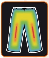 Alpenheat beheizte Hose Fire Pantliner Pants Unterhose