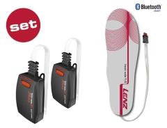 Lenz beheizte Sohlen: Set Lithium Pack rcB1200 + Heat Sole 1.0