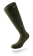 Lenz beheizte Socken HEAT SOCK 3.0 Lithium Pack rcB1200 Set grün