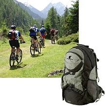 trekking rucksack fahrrad